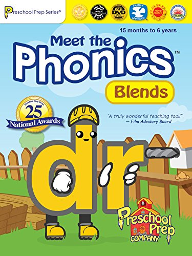 Meet the Phonics - Blends (Fun Phonics Dvd)