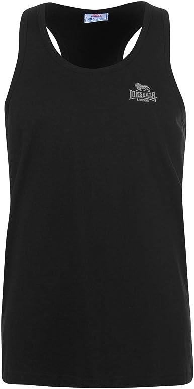 Lonsdale Sleeveless T Shirt Mens,VEST GYM,TRAINING COTTON SIZE L