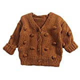 Infant Toddler Baby Girl Knitted Sweater Ruffle
