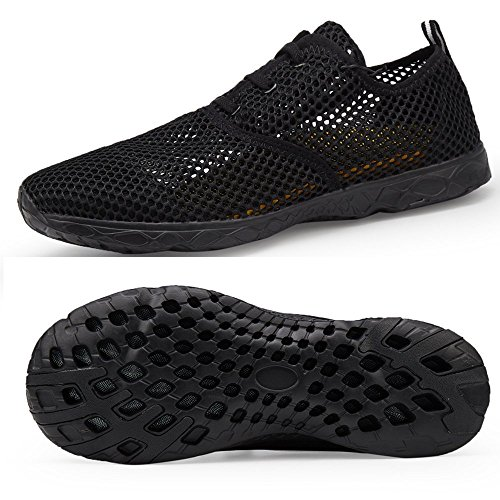 LeKuni Water Shoes for Men Quick Drying Aqua Beach Pool Shoes Athletic Sport Lightweight Walking – Sports Center Store