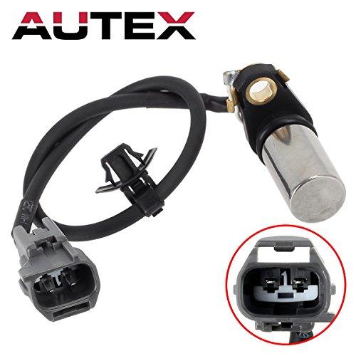AUTEX Crankshaft Position Sensor PC406 Compatible with Toyota Camry 02-11 & Corolla 09-10 & Highlander 01-07 & Matrix 09-13 & RAV4 01-08/Lexus HS250h 10-12/Pontiac Vibe 09-10/Scion tC 05-10 & xB 14