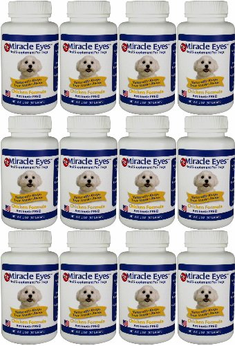 Miracle Eyes Chicken Formula Oral Supplement 24oz (12 x 2oz)