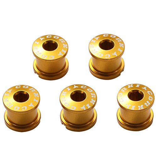 ng Bolts Kit 7075 Alloy M8 Golden 5-Pack ()