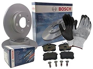 Bosch Kit 4x Bremsscheiben und 2x Beläge Hinten und Vorne Ford Focus