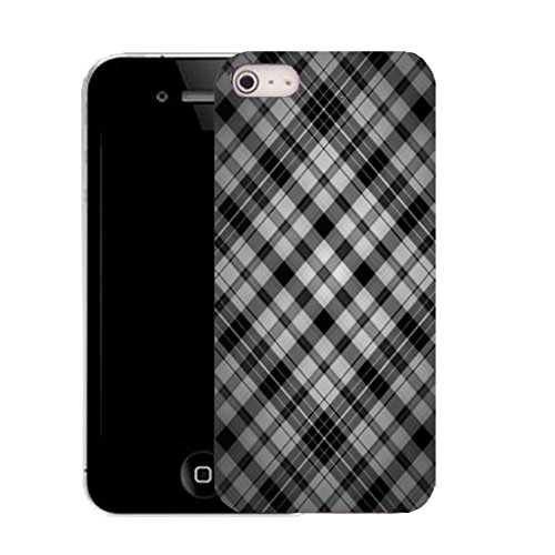 Mobile Case Mate IPhone 5S clip on Silicone Coque couverture case cover Pare-chocs + STYLET - snazzy pattern (SILICON)