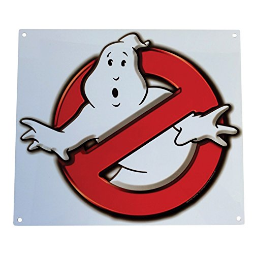Factory Sign - Factory Entertainment Ghostbusters No Ghosts Logo Metal Sign