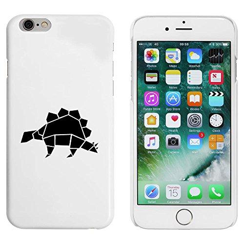 Blanc 'Dinosaure Origami' étui / housse pour iPhone 6 & 6s (MC00022686)