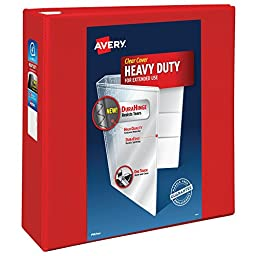 Avery Heavy-Duty View Binder with 4\