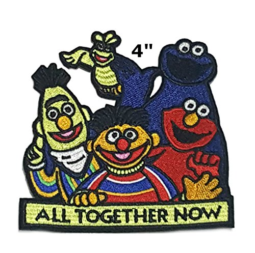 Sesame Street Cartoon Embroidered Sew or Iron-on Patch