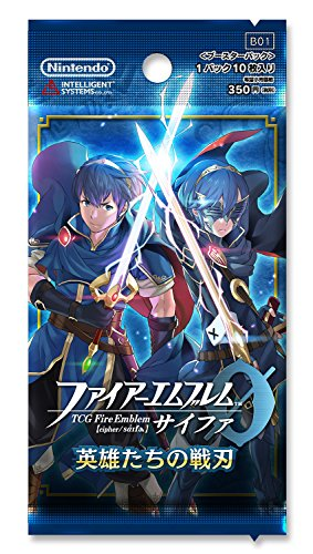 TCG Fire Emblem 0 (cipher) ''war blade of heroes'' booster pack (1BOX16 packs) by Nintendo