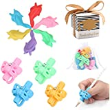 Premium Training Pencil Grips for Kids Handwriting for Preschool, Ritchoi Upgrade Right or Left Hand Ergonomic Pencil Grip for Kids and Training Pencil Grip for Adults (10 Pcs)