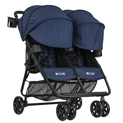 ZOE XL2 BEST v2 Lightweight Double Umbrella Twin Stroller System