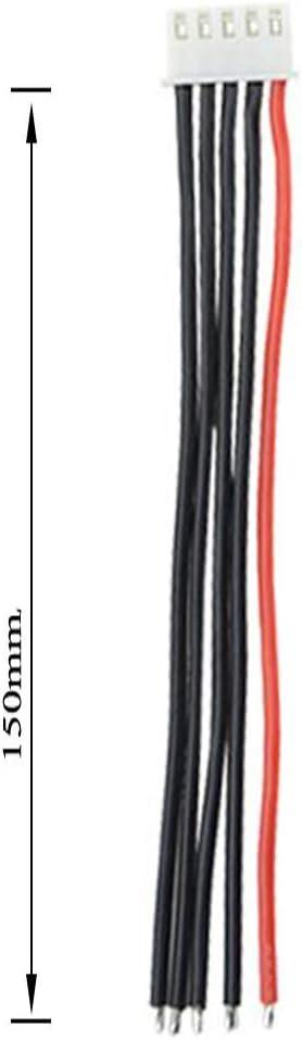 4S 10pcs 2S 3S 4S 5S 6S C/âble de Balance avec C/âble en Silicone de 15cm et 22awg
