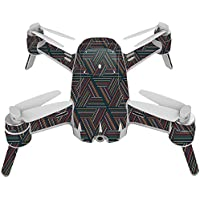 Skin For Yuneec Breeze 4K Drone – Triangle Stripes | MightySkins Protective, Durable, and Unique Vinyl Decal wrap cover | Easy To Apply, Remove, and Change Styles | Made in the USA