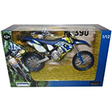 2012 Husaberg FE 390 Dirt Motorcycle Model 1/12 by Automaxx 603201