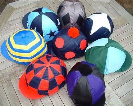 Stars Diamonds or Spot Pattern Motif Lycra Skull Cover Hat Silk With Hearts