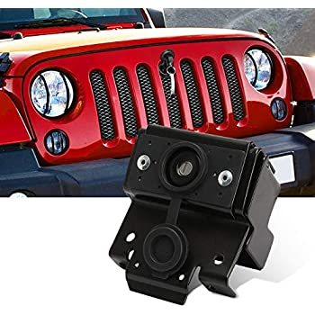 ALAVENTE Stainless Steel Hood Latches Hood Lock Catch Latches Kit for 2007-2017 Jeep Wrangler JK JKU /& Unlimited