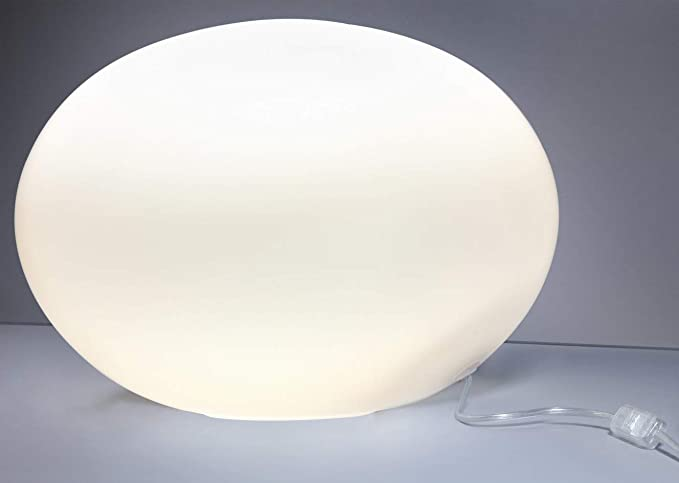Lámpara de mesa Bola/blanco/grandes acabado/E27 hasta 60 W ...