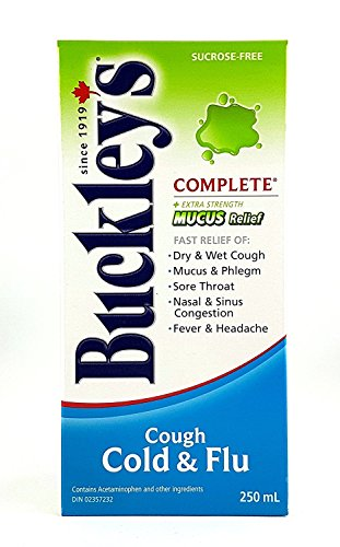 Buckley's Complete 'MUCUS RELIEF' Syrup Extra Strength for relief of COUGH - 250 ml ()
