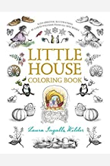 Little House Coloring Book (Little House Merchandise) Paperback