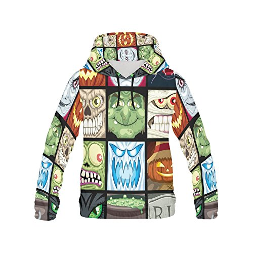 your-fantasia Custom New All Over Print Hoodie Halloween Avatars Hoodie for Men