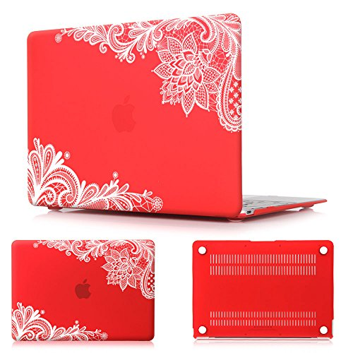 Batianda(TM Lace Matte Rubberized Hard Case Cover for MacBook Air 11