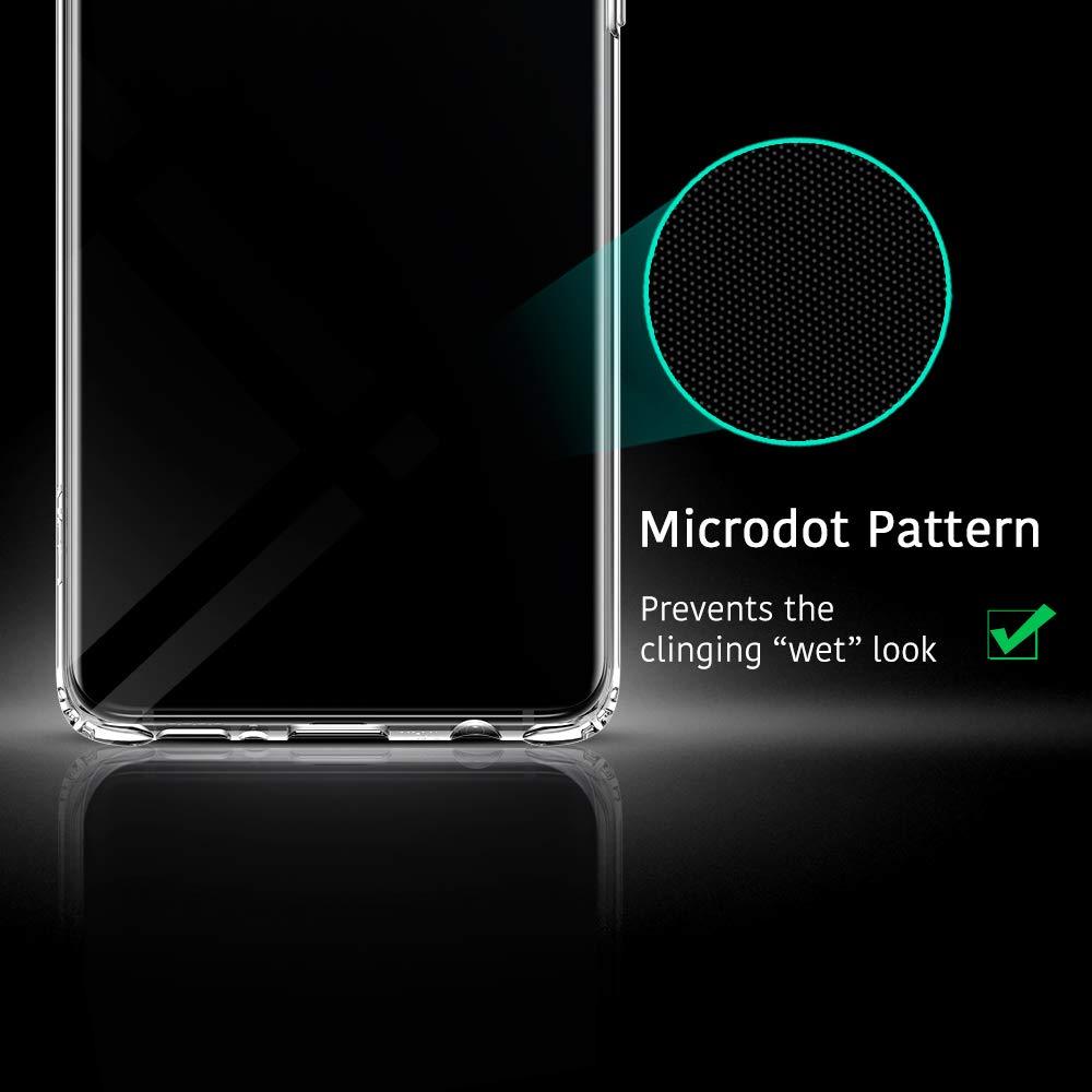 ESR Funda para Samsung Galaxy S10e,Funda Essential Zero de TPU Suave Transparente Delgada Compatible con Samsung Galaxy S10e Funda Suave de Silicona Flexible Jalea Transparente