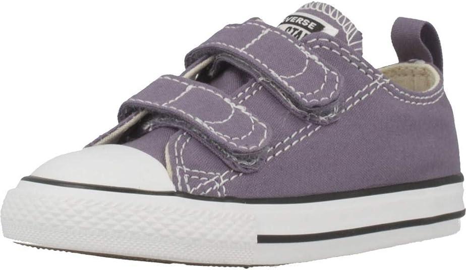 converse violette fille