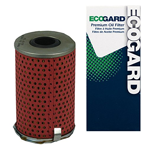 ECOGARD X4008 Cartridge Engine Oil Filter for Conventional Oil - Premium Replacement Fits Acura Legend / Sterling 825