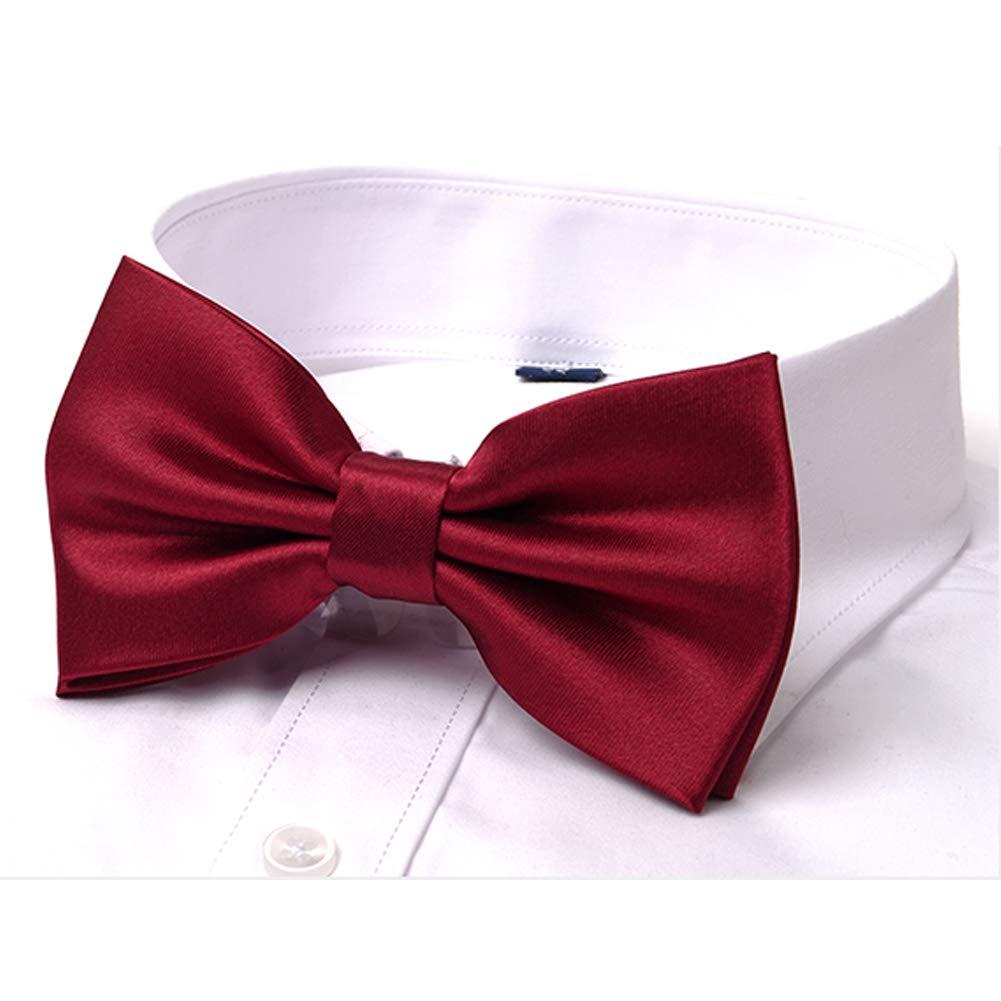 SYAYA Mens Male boy Classic Pre-Tied Formal Tuxedo Bowtie Adjustable Large BT1
