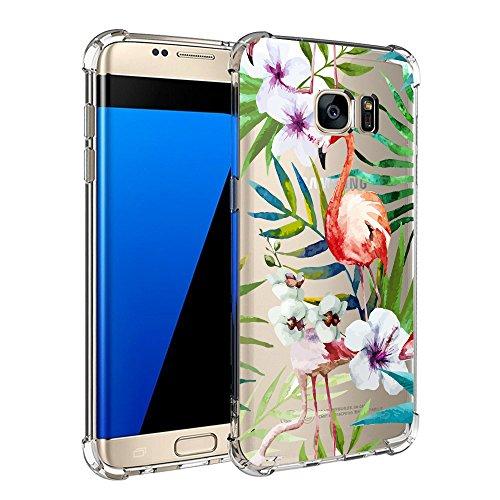 Housse 4 Silicone Zater De Choc Edge S7 Cute Shock Coussin Tpu Compatible Anti Motif Samsung Coque Avec absorption Pour Galaxy Transparent Coins D'air rayures 7 tshrxQdCB