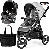 Peg Perego - Book Cross Atmosphere Travel Systems with a Diaper Bag