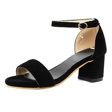VulusValas Women Mode Mid Heel Sandalen
