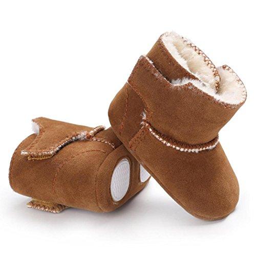 Stiefel Schuhe Samt Braun Baby Anti Krippe Soft Janly Neugeborenes Flauschige Rutsch Sole Kleinkind qPfnwCaxAg