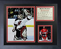 "Martin Brodeur - New Jersey Devils 11"" X 14"" Framed Photo Collage By Legends Never Die, Inc"