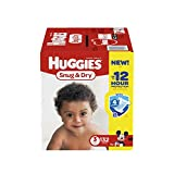Health & Personal Care : HUGGIES Snug & Dry Diapers, Size 3, 132 Count (Packaging May Vary)