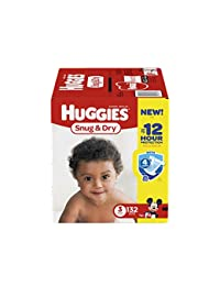 HUGGIES Snug & Dry Diapers, Size 3, 132 Count (Packaging May Vary) BOBEBE Online Baby Store From New York to Miami and Los Angeles