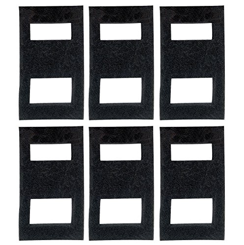 (Zanyzap 6 Foam Filter Blocks for Fluval SPEC Aquarium)