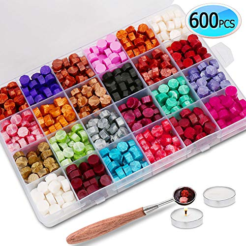 600PCS Sealing Wax Beads