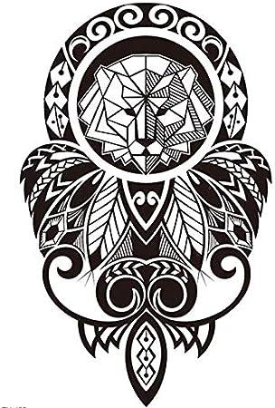 Tatuaje falso para el brazo de Tribal, diseño maorí y tribal TH455 ...