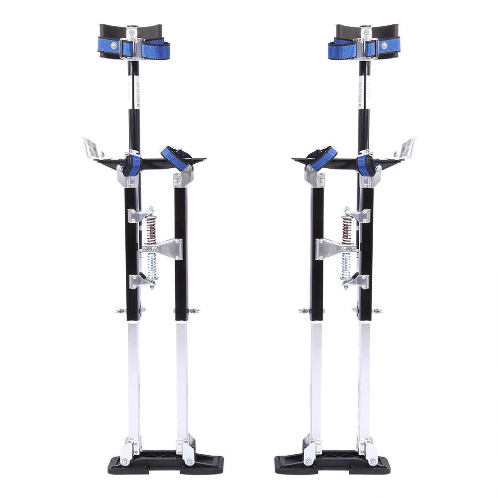 24'' - 40'' Drywall Stilts Painters Walking Taping Finishing Tools Aluminum US by NOOOSHI