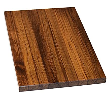 Aurora Large Burma Teak Wood Cutting Board Length 18 Inches Breadth 12 Inches Height 1 Inch