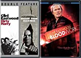 3 Films of Clint Eastwood Bloodwork / Dirty Harry & Escape from Alcatraz Movie Collection Film Favorites pack