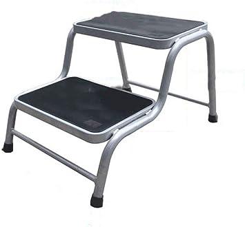 DLC Escalera, Escalera de Tijera, Estantería de Escalera, Escritorio de Escalera, Taburete de Escalera, Silla, Taburete de Escalera, Escalera Doméstica, Plataforma de Escalera de Taburete Multifunció: Amazon.es: Bricolaje y herramientas