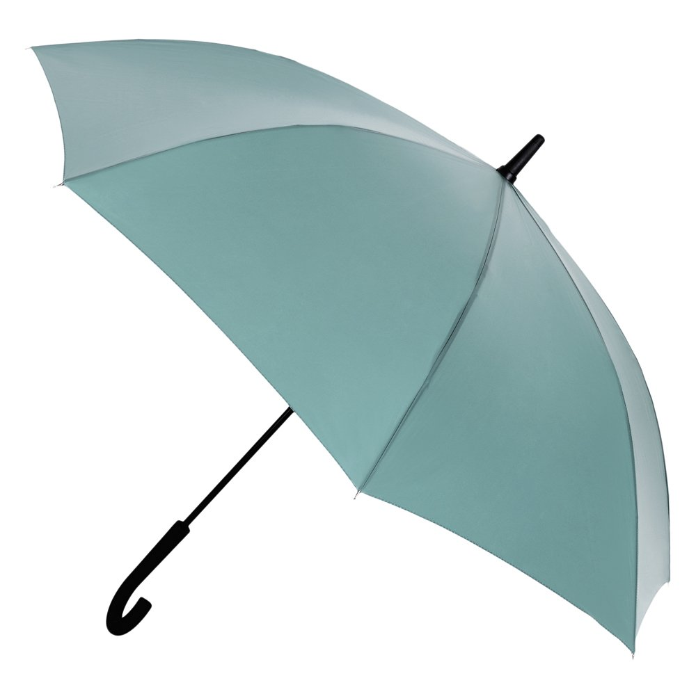Paraguas de Color marrón Brillante sin Muelle. Paraguas Largo Vogue: Amazon.es: Equipaje