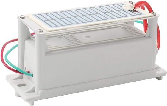 Generador de ozono cerámico portátil 220 V 6 g Long Life One Ozone Tablet ozonizador con purificador de agua integrado: Amazon.es: Bricolaje y herramientas