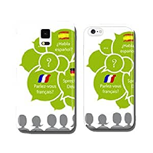 Do you speak..? Languages, vector cell phone cover case Samsung S5