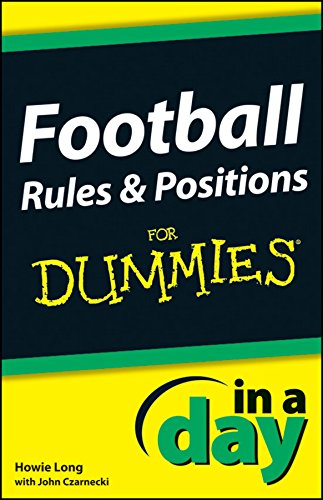 Fantasy Football Dummies (Football Rules and Positions In A Day For)