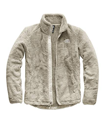 The North Face Women's Osito 2 Jacket Silt Grey/Vintage White Stripe Medium (Fleece Parka)