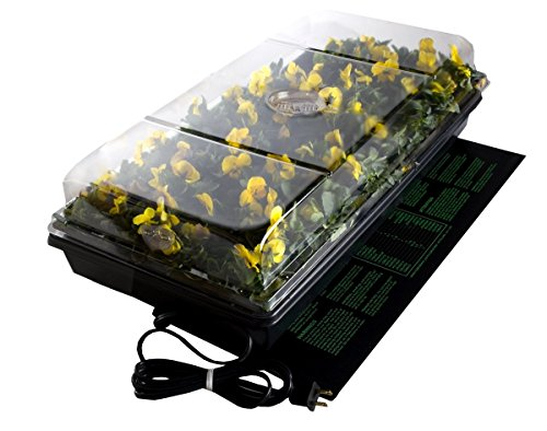 """BloomGrow 20""""x10"""" 20""""x20"""" 48""""x20"""" Seed Starter Pad Germination Propagation Clone Seedling Heat Mat (20""""x20"""") by BloomGrow (Image #5)"""